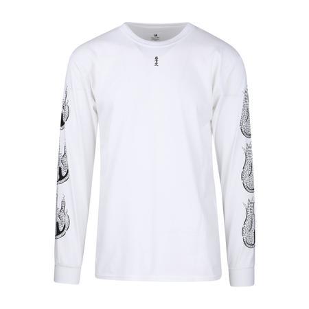 Sasquatchfabrix. Kamisabiru-002 Long Sleeve T-Shirt - White