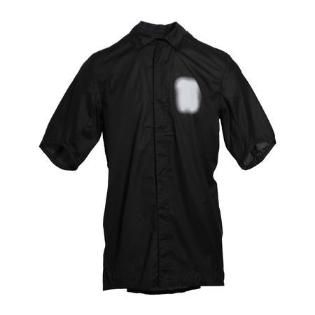 11 by Boris Bidjan Saberi S2B Frosted Short Sleeve Shirt - Black Dye