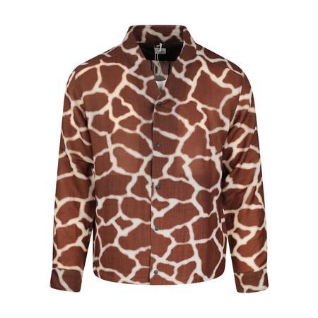 Sasquatchfabrix. Wa-Neck Long Sleeve Shirt - Giraffe