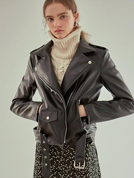 YAN13 Loose Rider Jacket - Black
