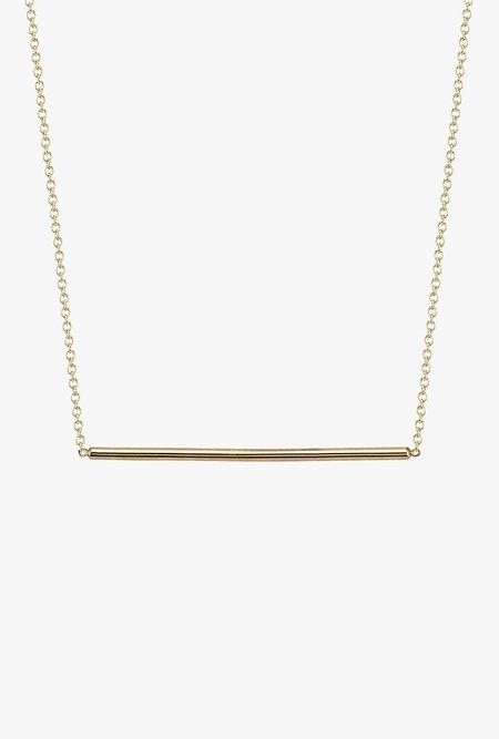 Gabriela Artigas Line Necklace - 14K Gold