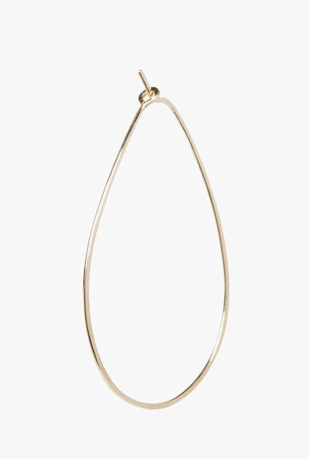 Circadian Studios Small Teardrop Earrings - 14k Gold Fill