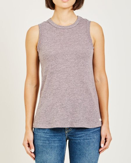 AR321 OATMEAL MUSCLE TEE - POWDER PINK