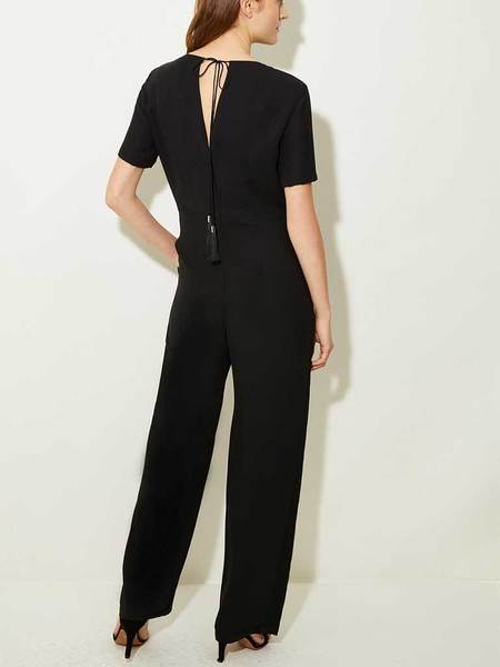 Great Plains Gia Jumpsuit - BLACK