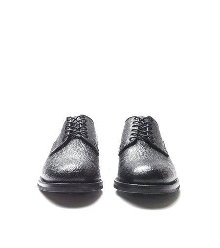 Viberg Derby Scotch Grain Shoe - Black
