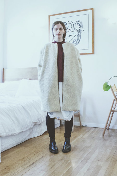 House of 950 sherpa coat