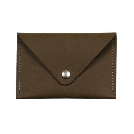Laperruque Envelope Cardholder - Olive Baranil