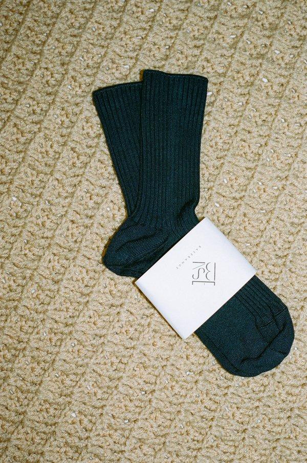 Baserange Rib Overankle Socks