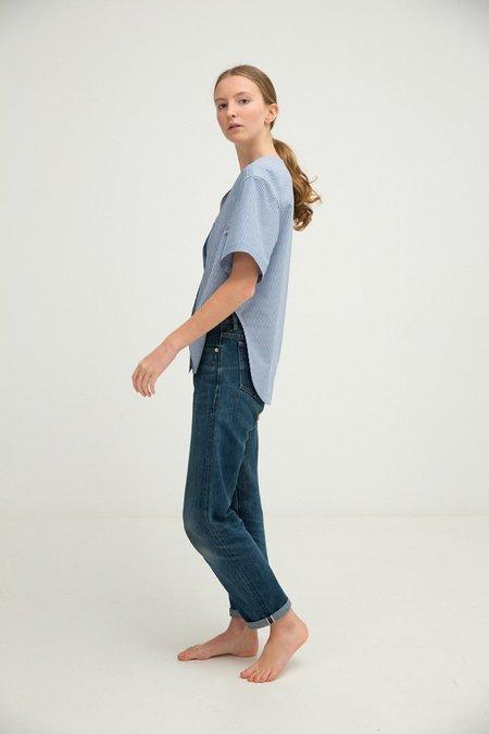 Sherie Muijs No. 24 Shirt - Denim Blue Stripe