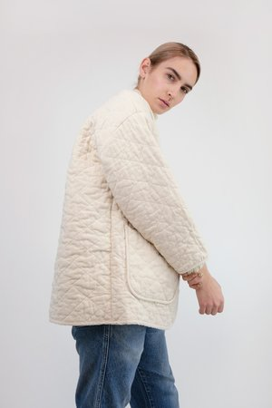 Micaela Greg Quilted Jacket - Cream