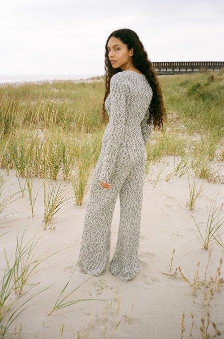 Pari Desai Dani Marl Sweater - Grey