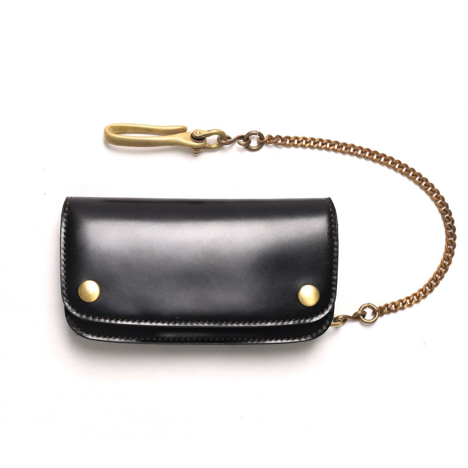Fuerton Womens Genuine Leather Coin Purse Mini Pouch Change Wallet with Key Ring Brown