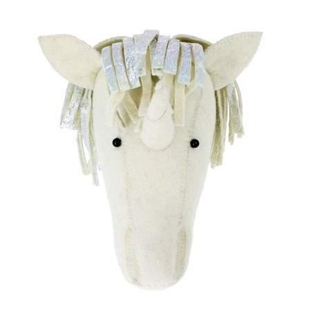 Kids Fiona Walker England Unicorn Silver Headdress