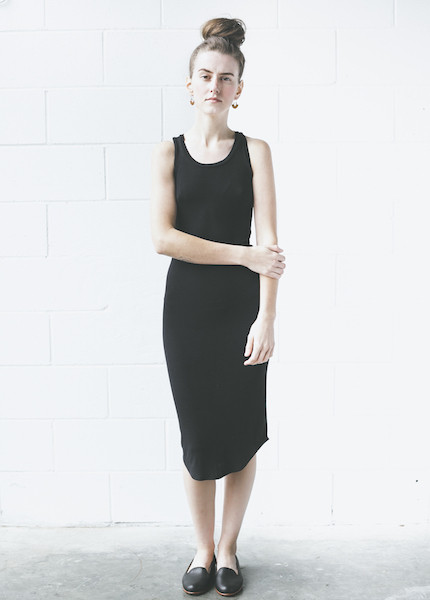 Dolan Sleeveless Slip Dress | Black