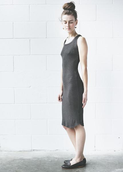 Dolan Sleeveless Slip Dress | Shadow
