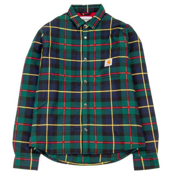 2abe352c58a Carhartt WIP Raynor Shirt Jacket – Raynor Check. monkey time check shirt  jacket … Men s Long Sleeve Buffalo Check Plaid ...