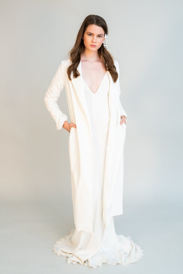 Catherine Gee Rhiannon Duster - Ivory