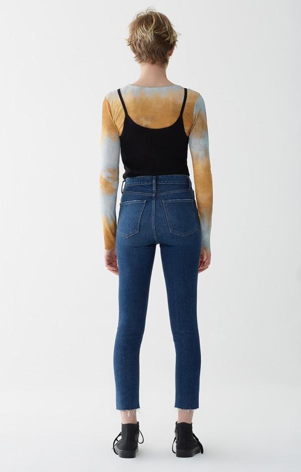 c06e4a42c Agolde Nico Hi Rise Slim Fit Jeans - Vox Dark Indigo | Garmentory