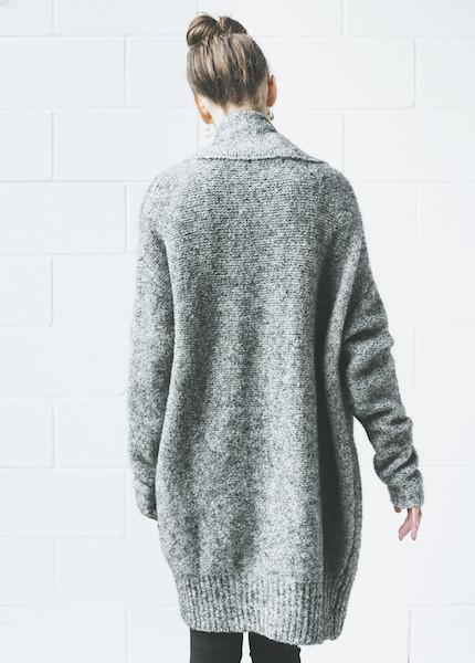 Line Knitwear Claudette | Dark Star