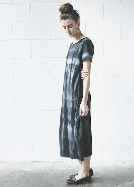 Uzi Tee Dress | Tie Dye
