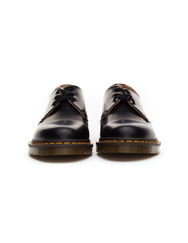 c0fefda6406 Comme des Garçons x Dr.Martens 1461 Leather Boots - Black | Garmentory