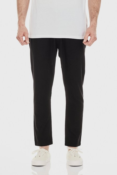 COMMONERS Relaxed Linen Pant - Black