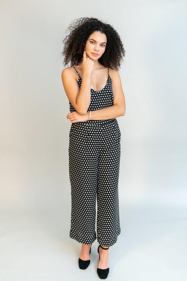 Just Female Hiro Singlet - Polka Dot