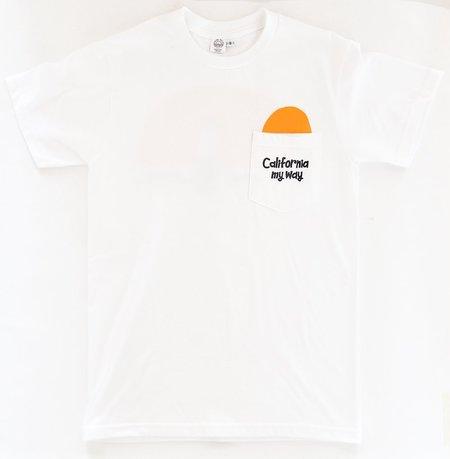 Yusuke Hanai x Made Solid California My Way T-Shirt