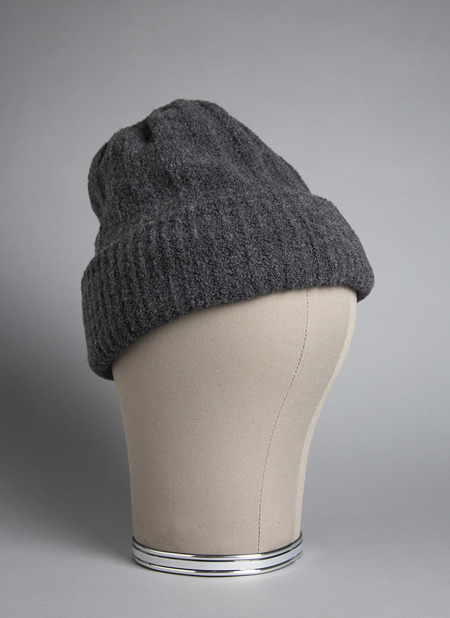 GREI Mousse Double-Sided Beanie - Charcoal
