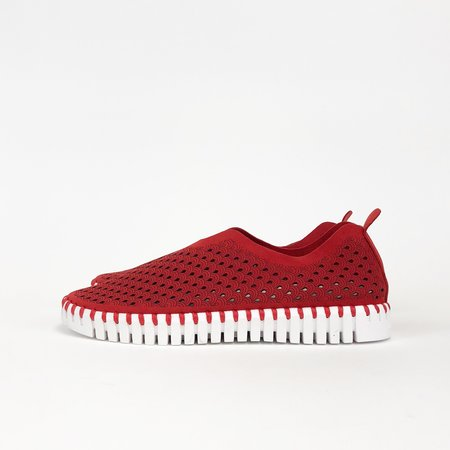 Ilse Jacobsen Tulip Sneakers - Deep Red