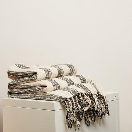 OddBird Sultan Handwoven Towel - Navy/Natural