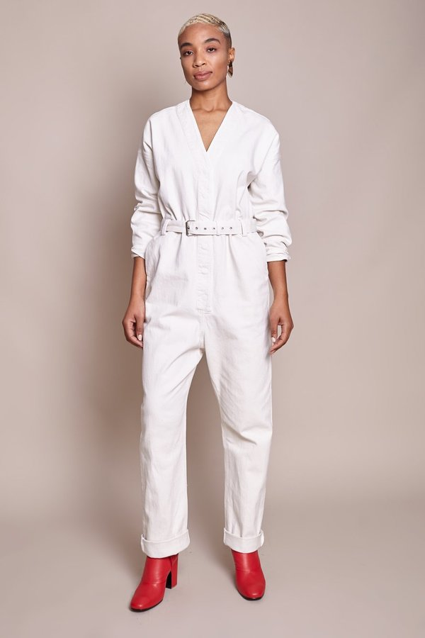 26c6c293a44 Rachel Comey Glitch Jumpsuit - Dirty White