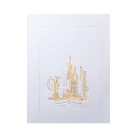 Mount Street Printers Seasons Greetings London Christmas Card