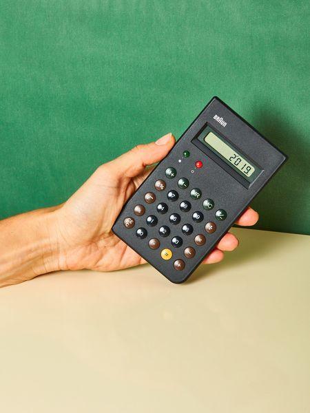 Braun Calculator - black