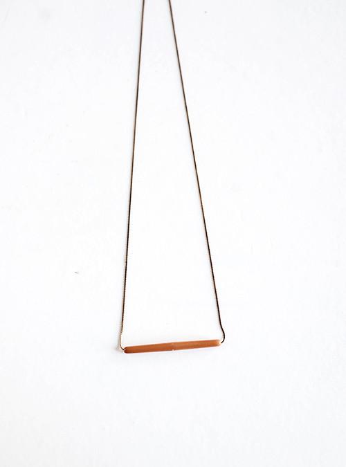 Yield Design Co. Saffron Necklace