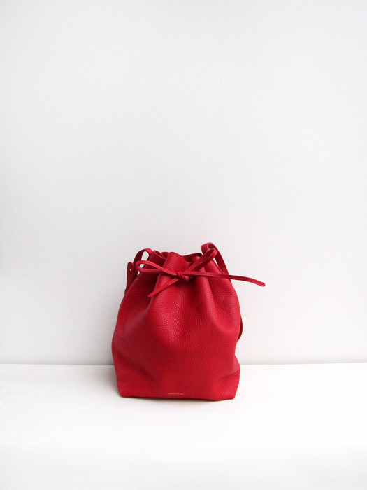 Bucket Bag, Tumbled, Flamma