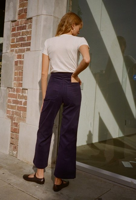 Bliss and Mischief Corduroy Painter Pant - Navy