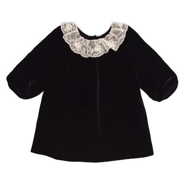 ea3725072 Bonpoint Baby Flavili Dress Black   Garmentory