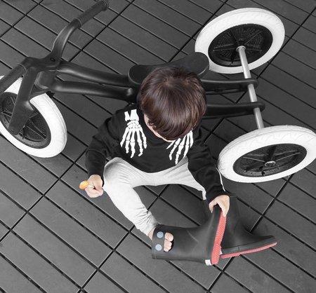KIDS WISHBONE 3-in-1 Recycled Edition Bike - BLACK/WHITE