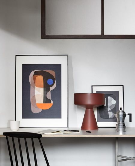 Atelier Cph Abstract Cubism Print