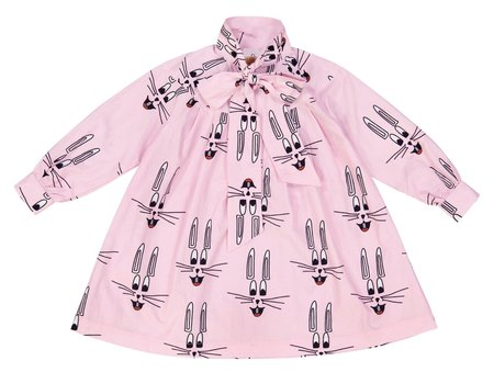 Hugo Loves Tiki Adult Bunny Bow Dress - PINK