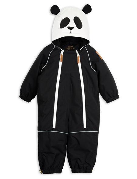 KIDS Mini Rodini Alaska Panda Overall