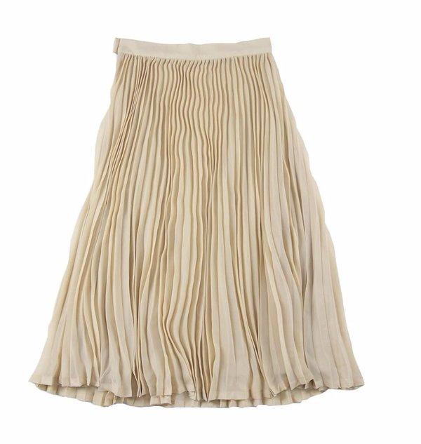 83095d9c7 KIDS Feather Drum Ava Pleated Maxi Skirt - YELLOW | Garmentory