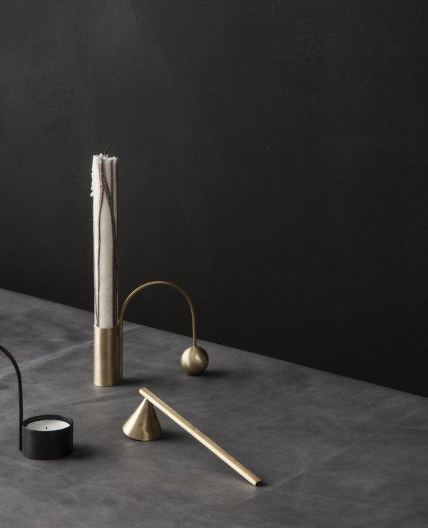Ferm Living Balance Brass Tea Light Holder