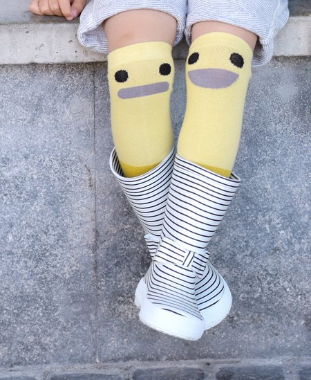 KIDS Boxbonaute Bowtie Rain Boots