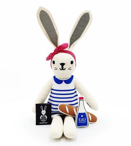 KIDS Bootaboot Bunny June Doll - Paris