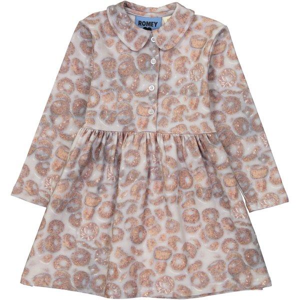 KIDS Romey Loves Lulu Cereal Collared Dress