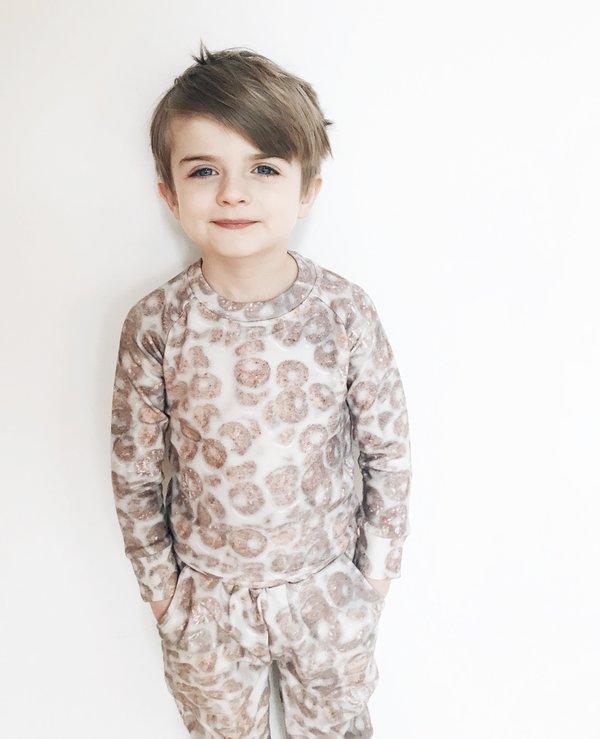 KIDS Romey Loves Lulu Cereal Sweatpants