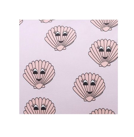 KIP & CO Clams Fitted Sheet - print