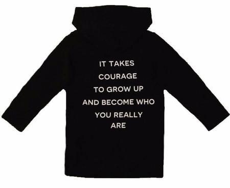 KIDS JAX & HEDLEY Courage Zip Jacket - BLACK